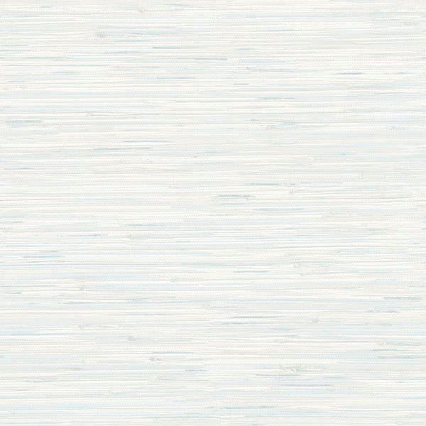 Picture of Natalie Light Blue Faux Grasscloth Wallpaper