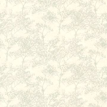 Picture of Lacey Mint Vines Wallpaper