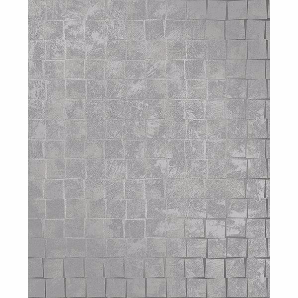 Picture of Dagmar Silver Medium Squares Wallpaper