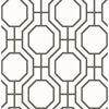 Picture of Circuit Black Modern Ironwork Wallpaper