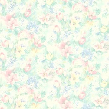 Picture of Hucklebee Pink Floral Wallpaper