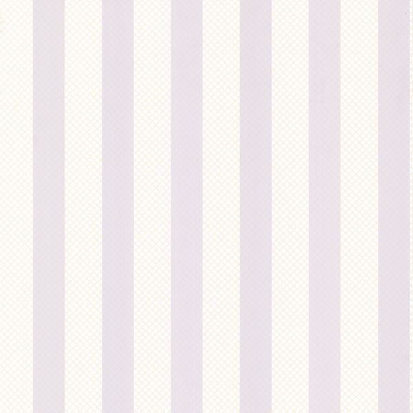 Picture of Ditsy Purple Trellis Stripe Wallpaper