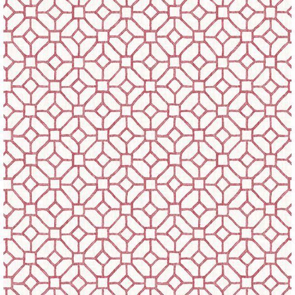 Picture of Gigi Ruby Geometric Wallpaper