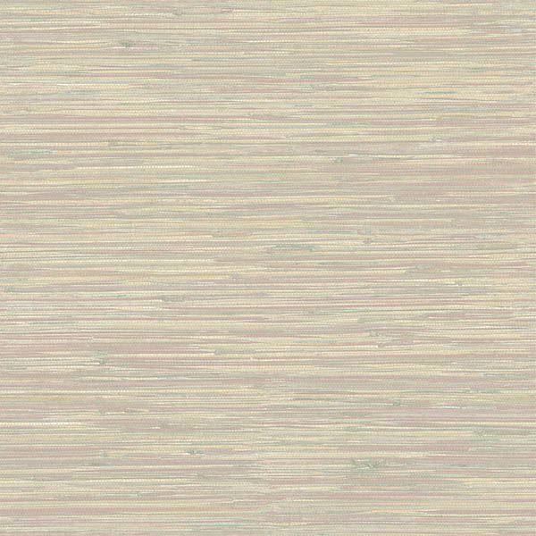 Picture of Natalie Gold Faux Grasscloth Wallpaper