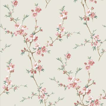 Picture of Cherry Blossom Sage Trail Wallpaper
