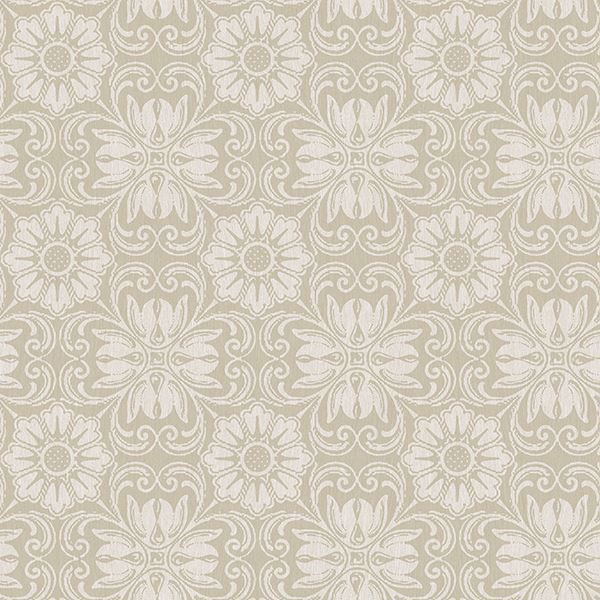 Picture of Hessle Taupe Floral Wallpaper