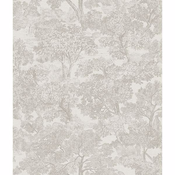 Picture of Blyth Grey Toile Wallpaper