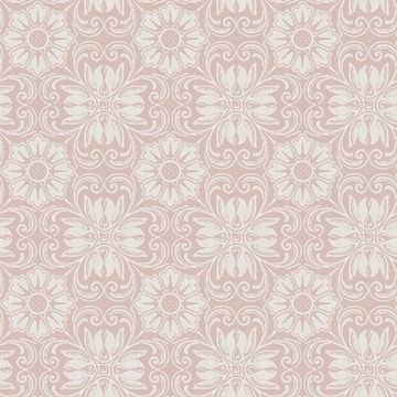 Picture of Hessle Pink Floral Wallpaper