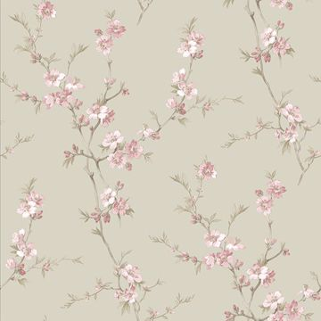 Picture of Cherry Blossom Pink Trail Wallpaper