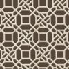 Picture of Adlington Brown Geometric Wallpaper