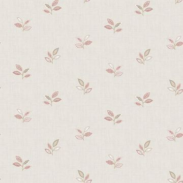 Picture of Leigh Pink Leaf Wallpaper