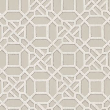 Picture of Adlington Grey Geometric Wallpaper