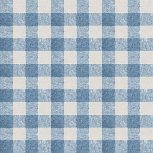 Picture of Claire Blue Gingham Wallpaper