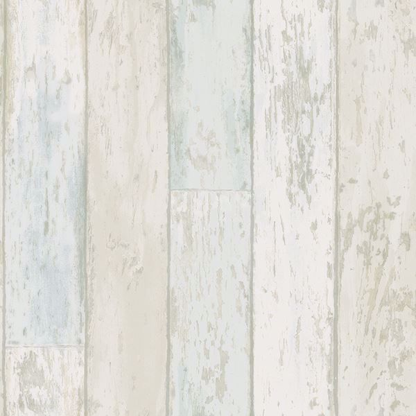 Picture of Alston Blue Wood Wallpaper