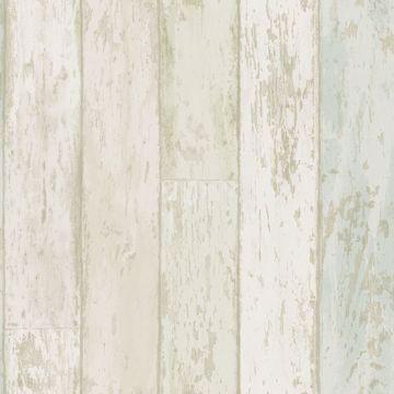 Picture of Alston Aqua Wood Wallpaper