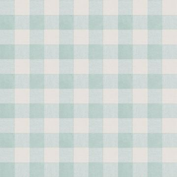 Picture of Claire Aqua Gingham Wallpaper