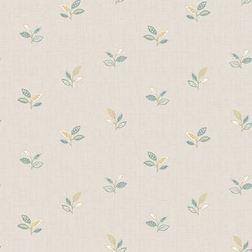 Picture of Leigh Yellow Leaf Wallpaper
