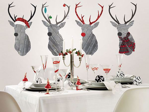 Picture of Reindeer Games Large Wall Art Kits
