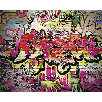 Picture of City Graffiti Wall Mural