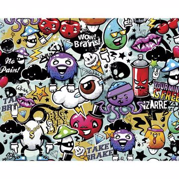 Picture of Graffiti Monster Wall Mural