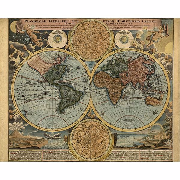 Picture of Travelers Globe Wall Mural