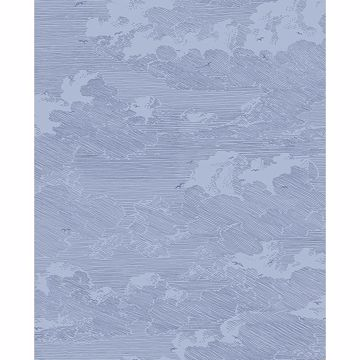 Picture of Palila Navy Cloud Wallpaper