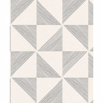 Picture of Mont Cream Geometric Wallpaper