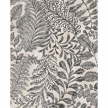 Picture of Balth Cream Botanical Wallpaper
