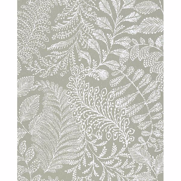 Picture of Balth Sage Botanical Wallpaper