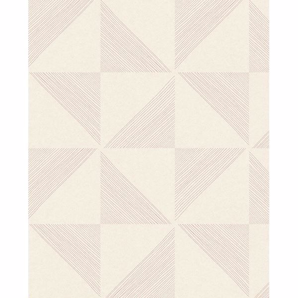 Picture of Mont Pink Geometric Wallpaper
