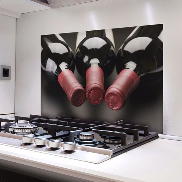 Picture of Wine Bottles Kitchen Panels