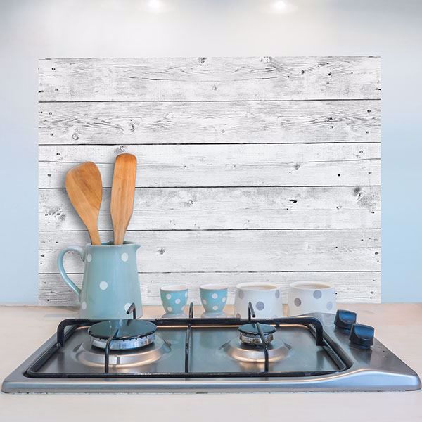 Picture of Grey Wood Kitchen Panels