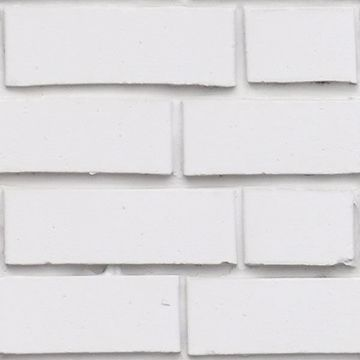 Picture of White Bricks Peel and Stick Foam Tiles