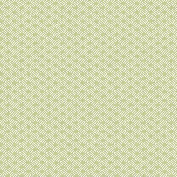 Picture of Sweetgrass Green Lattice Wallpaper
