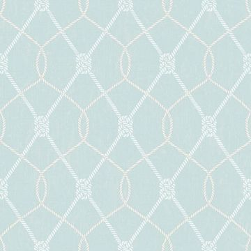 Picture of Tradewinds Aqua Trellis Wallpaper