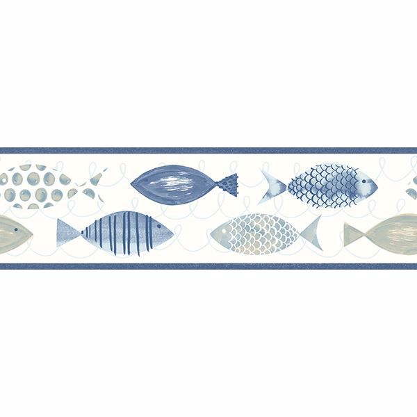 Picture of Key West Blue Fish Border