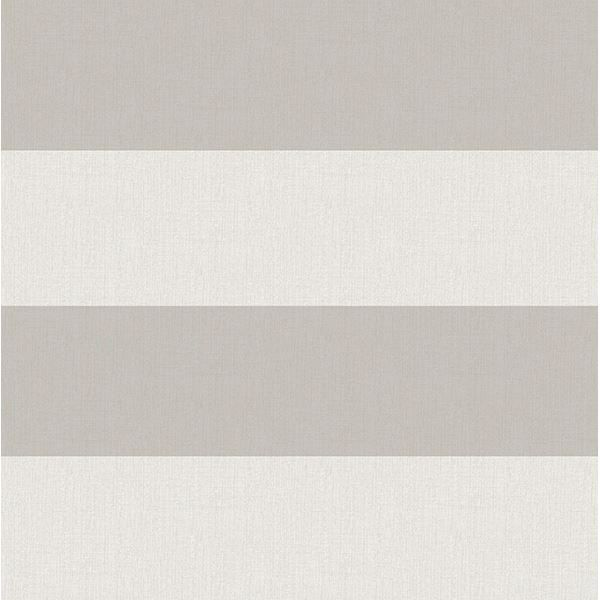 Picture of Awning Grey Stripe Wallpaper