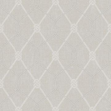 Picture of Tradewinds Grey Trellis Wallpaper