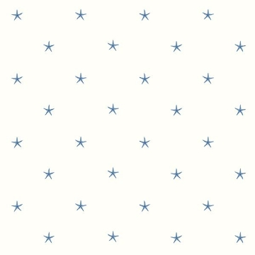 Picture of White Sands Blue Starfish Wallpaper