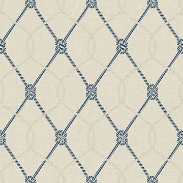 Picture of Tradewinds Beige Trellis Wallpaper