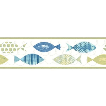 Picture of Key West Green Fish Border