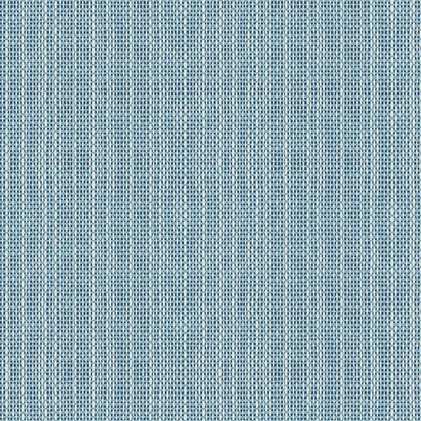 Picture of Kent Blue Faux Grasscloth Wallpaper