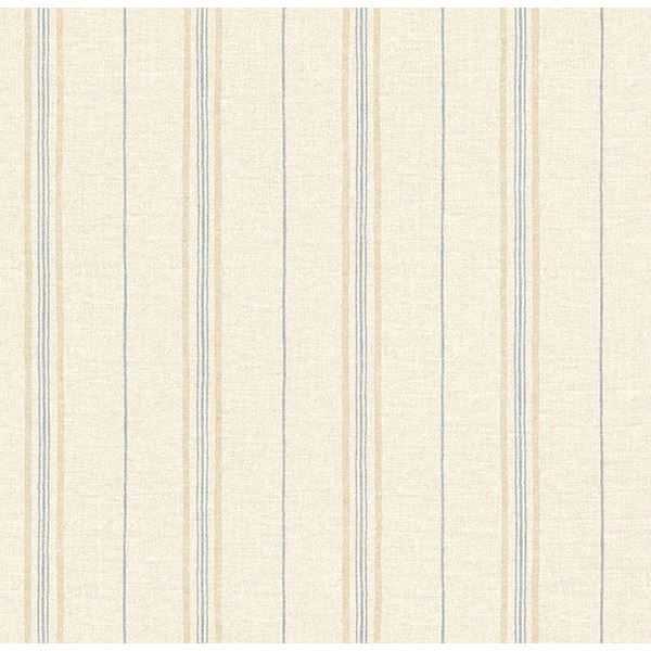 Picture of Franz Wheat Grain Texture Stripes Wallpaper