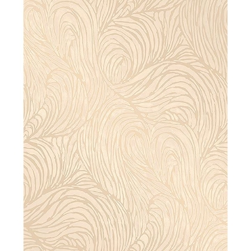 Picture of Andie Gold Swirl Wallpaper