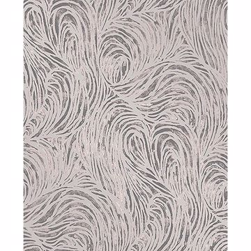 Picture of Andie Purple Swirl Wallpaper