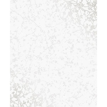 Picture of Palatine Silver Leaves Wallpaper
