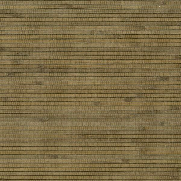 Picture of Green Bamboo Grasscloth Wallpaper