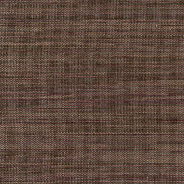 Picture of Burgundy Sisal Grasscloth Wallpaper