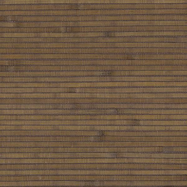 Picture of Brown Bamboo Grasscloth Wallpaper
