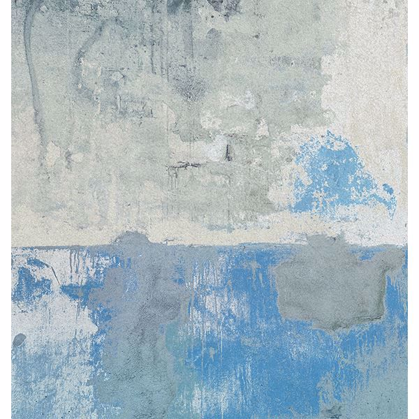 Picture of Blue Grey Weathered Wall Mural